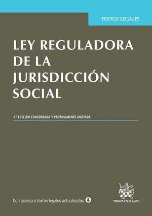 LEY REGULADORA DE LA JURISDICCIÓN SOCIAL 6ª EDICIÓN 2015