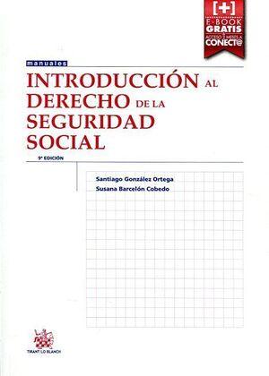 INTRODUCCIÓN AL DERECHO DE LA SEGURIDAD SOCIAL 9ª EDICIÓN 2015
