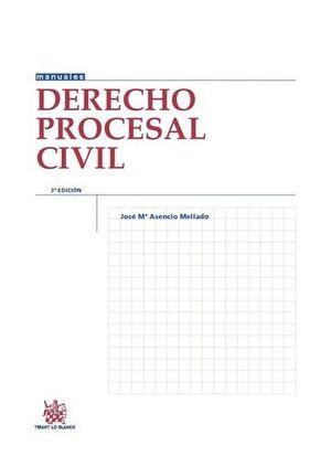 DERECHO PROCESAL CIVIL 3ª EDICIÓN 2015