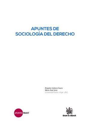 APUNTES DE SOCIOLOGÍA DEL DERECHO
