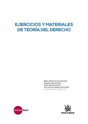 EJERCICIOS Y MATERIALES DE TEORÍA DEL DERECHO