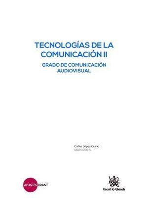 TECNOLOGÍAS DE LA COMUNICACIÓN II