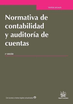 NORMATIVA DE CONTABILIDAD Y AUDITORÍA DE CUENTAS 2ª EDICIÓN 2016