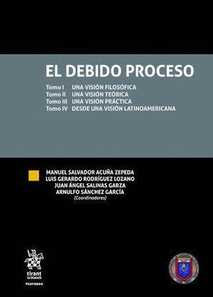 EL DEBIDO PROCESO 4 VOLÚMENES