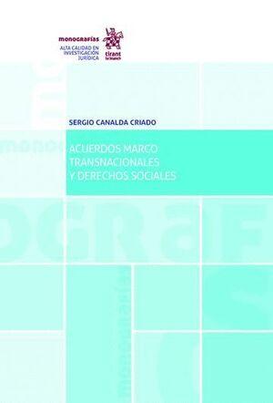 ACUERDOS MARCO TRANSNACIONALES Y DERECHOS SOCIALES
