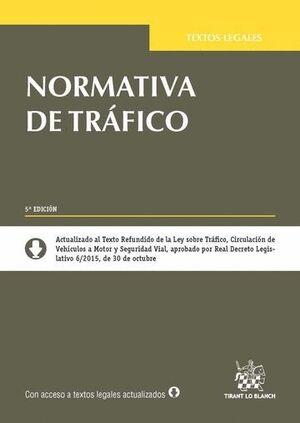 NORMATIVA DE TRÁFICO 5ª EDICIÓN 2015