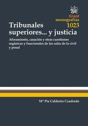 TRIBUNALES SUPERIORES... Y JUSTICIA