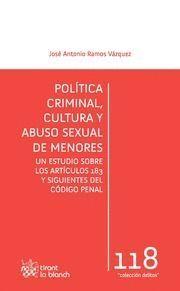 POLÍTICA CRIMINAL, CULTURA Y ABUSO SEXUAL DE MENORES