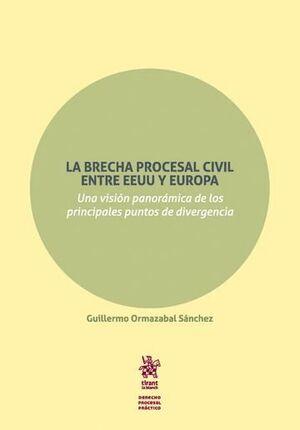 LA BRECHA PROCESAL CIVIL ENTRE EEUU Y EUROPA