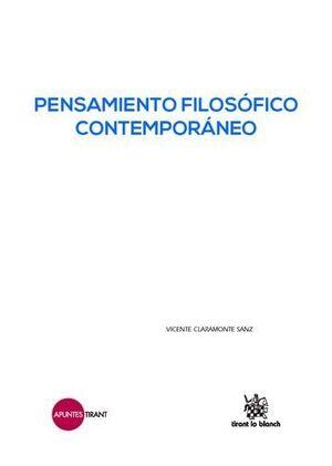 PENSAMIENTO FILOSÓFICO CONTEMPORÁNEO