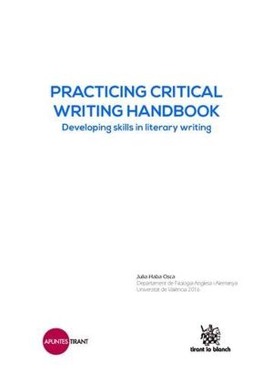 PRACTICING CRITICAL WRITING HANDBOOK