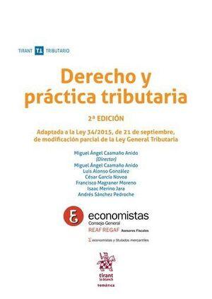 DERECHO Y PRÁCTICA TRIBUTARIA 2ª EDICIÓN 2016