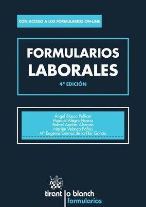 FORMULARIOS LABORALES 4ª EDICIÓN 2016