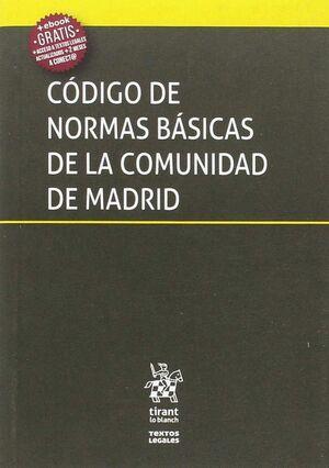 CÓDIGO DE NORMAS BÁSICAS DE LA COMUNIDAD DE MADRID