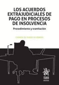 LOS ACUERDOS EXTRAJUDICIALES DE PAGO EN PROCESOS DE INSOLVENCIA