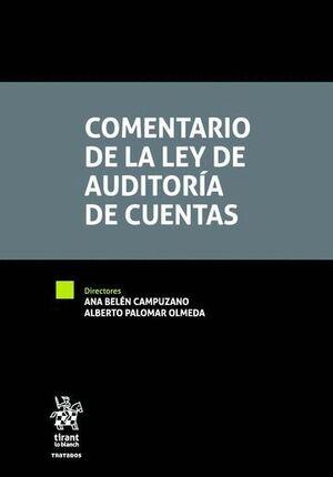 COMENTARIO DE LA LEY DE AUDITORA DE CUENTAS