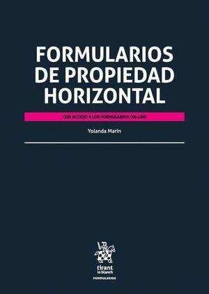 FORMULARIOS DE PROPIEDAD HORIZONTAL