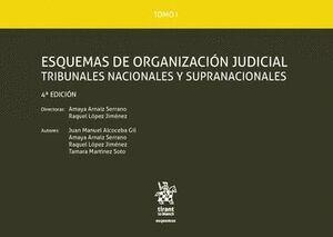 TOMO I ESQUEMAS DE ORGANIZACIÓN JUDICIAL TRIBUNALES NACIONALES Y SUPRANACIONALES 4ª EDICIÓN 2016