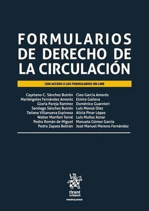 FORMULARIOS DE DERECHO DE LA CIRCULACIÓN