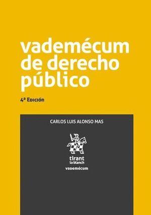 VADEMÉCUM DE DERECHO PÚBLICO 4ª EDICIÓN 2016