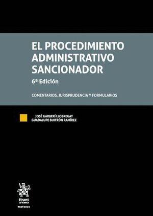 EL PROCEDIMIENTO ADMINISTRATIVO SANCIONADOR 6ª EDICIÓN 2016 2 VOLS.