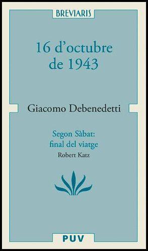 16 D'OCTUBRE DE 1943 I SEGON SABBATH