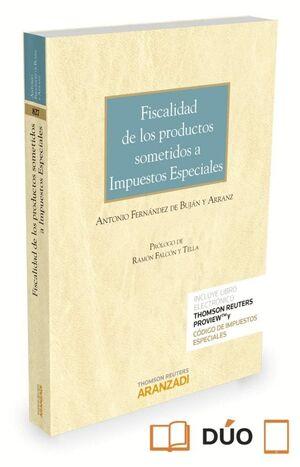 FISCALIDAD DE LOS PRODUCTOS SOMETIDOS A IMPUESTOS ESPECIALES (PAPEL E-BOOK)