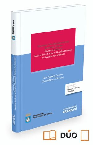 ANUARIO DE LOS CURSOS DE DERECHOS HUMANOS DE DONOSTIA-SAN SEBASTIÁN (PAPEL E-BOOK) VOLUMEN XV