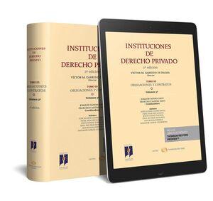 INSTITUCIONES DE DERECHO PRIVADO. TOMO III OBLIGACIONES Y CONTRATOS. VOLUMEN 3º (PAPEL E-BOOK)