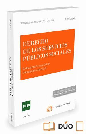 DERECHO DE LOS SERVICIOS PÚBLICOS SOCIALES (PAPEL E-BOOK)