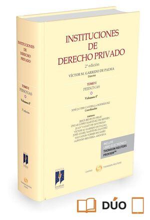 INSTITUCIONES DE DERECHO PRIVADO. TOMO I PERSONAS. VOLUMEN 4º ( PAPEL E-BOOK )