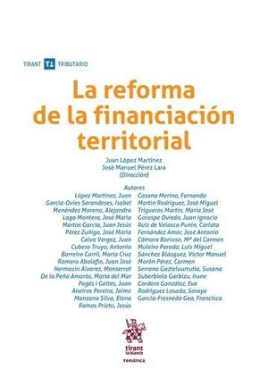 LA REFORMA DE LA FINANCIACIÓN TERRITORIAL