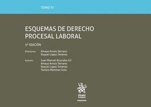 TOMO IV ESQUEMAS DE DERECHO PROCESAL LABORAL 3ª EDICIÓN