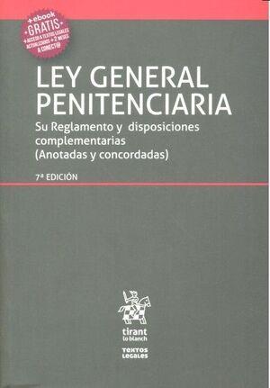 LEY GENERAL PENITENCIARIA 7ª EDICIÓN 2016
