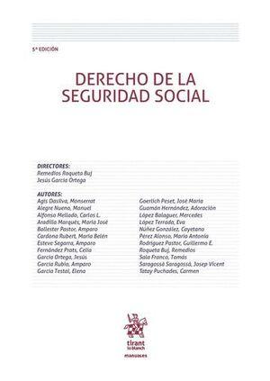 DERECHO DE LA SEGURIDAD SOCIAL 5ª EDICIÓN 2016
