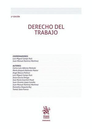 DERECHO DEL TRABAJO 5ª EDICIÓN 2016