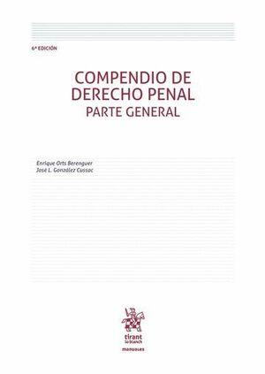 COMPENDIO DE DERECHO PENAL PARTE GENERAL 6ª EDICIÓN 2016
