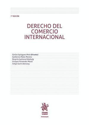 DERECHO DEL COMERCIO INTERNACIONAL 7ª EDICIÓN 2016