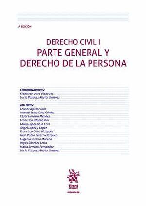 DERECHO CIVIL I PARTE GENERAL Y DERECHO DE LA PERSONA 2ª EDICIÓN 2016
