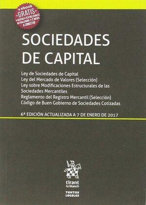 SOCIEDADES DE CAPITAL 6ª EDICIÓN 2017