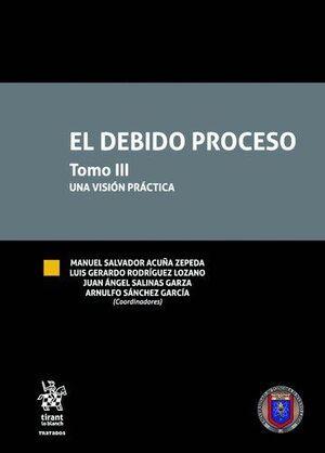 EL DEBIDO PROCESO  TOMO III