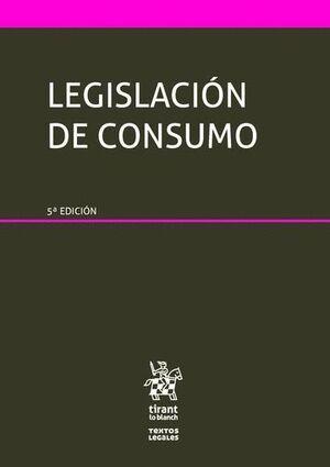 LEGISLACIÓN DE CONSUMO 5ª EDICIÓN 2016