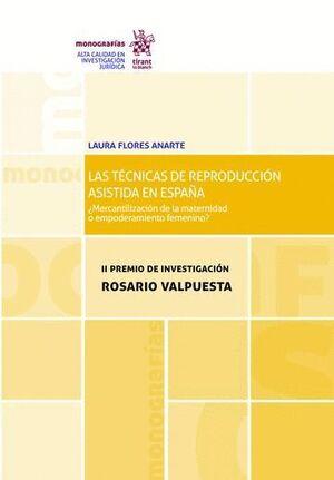 LAS TÉCNICAS DE REPRODUCCIÓN ASISTIDA EN ESPAÑA: ¿MERCANTILIZACIÓN DE LA MATERNIDAD O EMPODERAMIENTO FEMENINO?