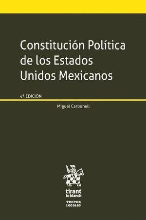 CONSTITUCIÓN POLTICA DE LOS ESTADOS UNIDOS MEXICANOS