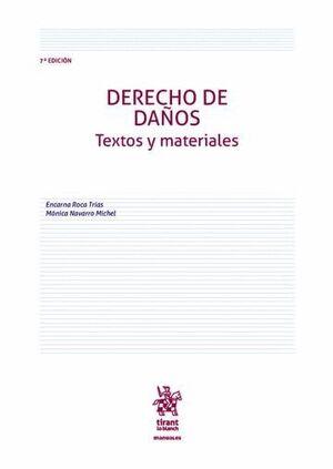 DERECHO DE DAÑOS TEXTOS Y MATERIALES 7ª EDICIÓN 2016