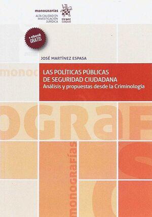 LAS POLTICAS PÚBLICAS DE SEGURIDAD CIUDADANA