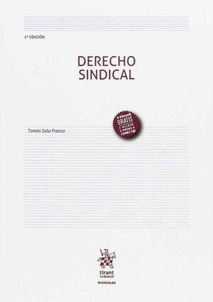 DERECHO SINDICAL 2ª EDICIÓN 2017