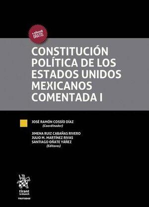 CONSTITUCIÓN POLÍTICA DE LOS ESTADOS UNIDOS MEXICANOS COMENTADA 3 VOLÚMENES