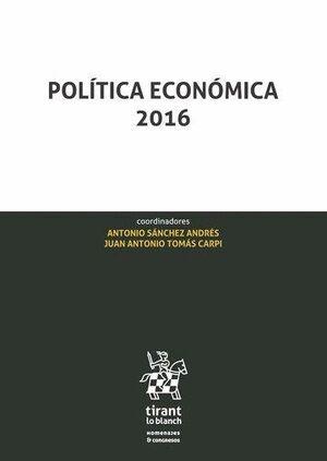 POLÍTICA ECONÓMICA 2016