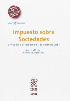 IMPUESTO SOBRE SOCIEDADES 17ª EDICIÓN 2017
